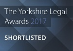 Yorkshire Legal awards 2017 – Private Client team of the Year – Shortlisted