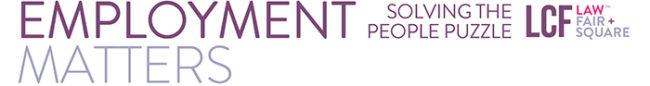LCF Law Employment Law E-Brief | Harrogate Leeds Bradford