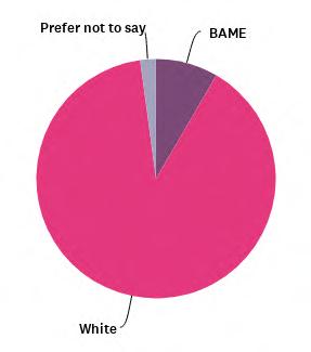 SRA Equality and Diversity Survey 2021 | Ethnicity